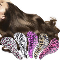 Detangling Massage Comb Plastic Tangle Shower Hair Salon Styling Brush Comb Hair styling Tool Alleviate Head Fatigue
