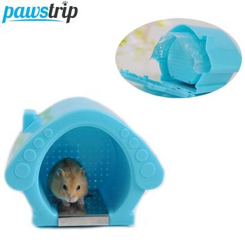 Cooling Hamster Cage House With Ice Bag 13.5x9x10.5cm