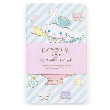 Buy Sanrio Original Cinnamoroll 15th Anniversary Set of 3 Mini Notebooks at ARTBOX