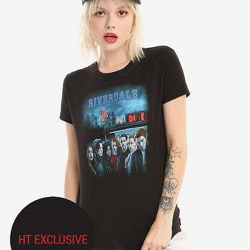Riverdale Group Diner Girls T-Shirt Hot Topic Exclusive