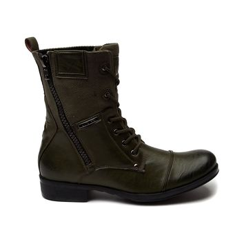 Mens J75 by Jump Trooper 3 Boots, Olive | Journeys Shoes