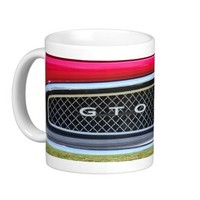 Pontiac GTO Muscle Car Hotrod Coffee Mug