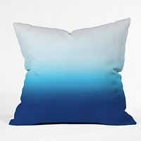 Natalie Baca Under The Sea Ombre Throw Pillow