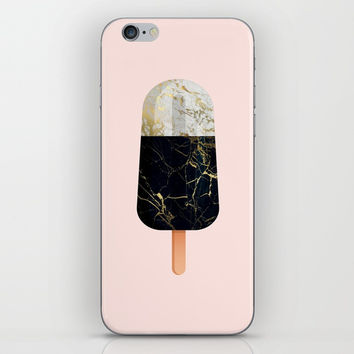 Marble Popsicle 1 iPhone Skin by Printapix