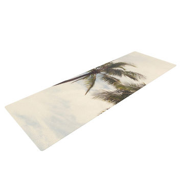 "Catherine McDonald ""Boho Palms"" Coastal Trees Yoga Mat"