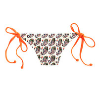 J.Crew Womens Neon Paisley String Hipster