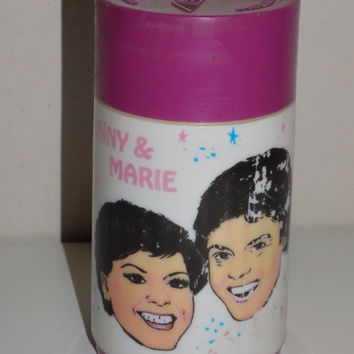Aladdin Donny & Marie Osmond Thermos Short Hair Thermo Bottle