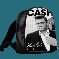 Johnny Cash for Backpack / Custom Bag / School Bag / Children Bag / Custom School Bag ***
