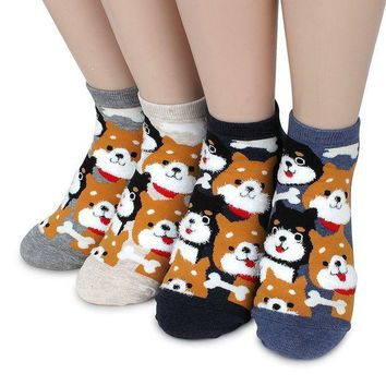 Women's Fashion Casual Funny Crazy Socks Collection
