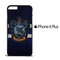 Harry Potter Knit Ravenclaw Wall Crest Logo F0185 iPhone 6 Plus Case