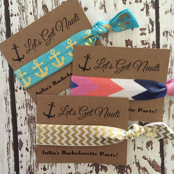 Bachelorette Party Favors - Let's Get Nauti