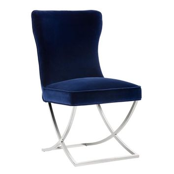 MAYRA DINING CHAIR - GIOTTO NAVY (PRICE SHOWN PER 2 PIECE)