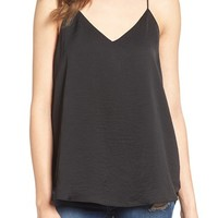 4SI3NNA Strappy Satin Camisole | Nordstrom