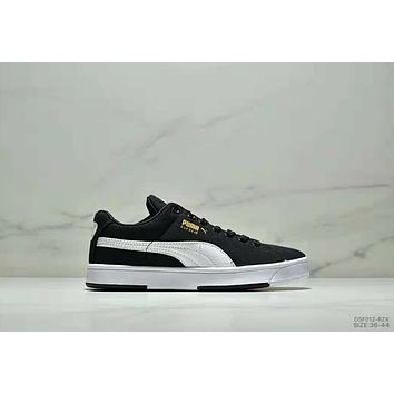 PUMA SUEDE S classic casual wild men and women shoes black