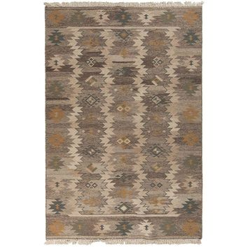 Artistic Weavers Kayanza Hot Cocoa 8 ft. x 11 ft. Flatweave Area Rug-Kayanza-811 - The Home Depot