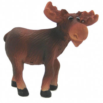 Animal Miniatures Moose Poly Resin