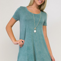 Vermont Vintage Short Sleeve Dress