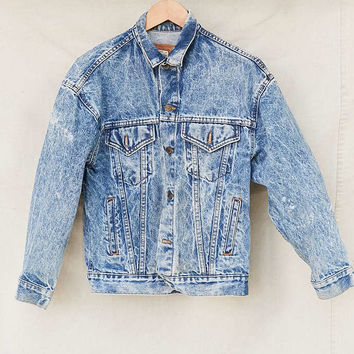 Vintage Levis Trucker Denim Jacket - Urban Outfitters