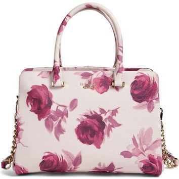 kate spade new york 'emerson place roses - olivera' satchel | Nordstrom