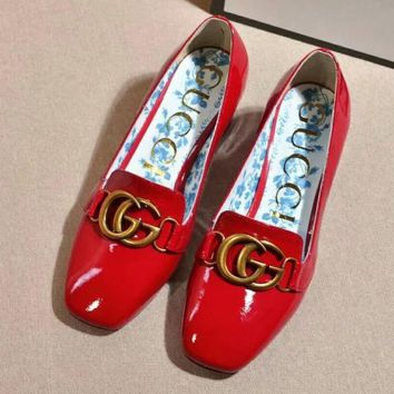 Gucci Women Fashion Casual High Heels Shoes