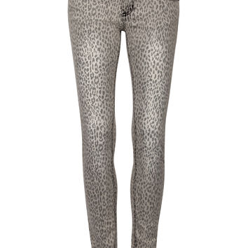 Wild Thing Leopard Skinny Jeans