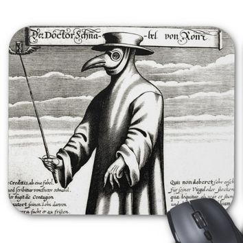 Plague Doctor Mouse Pad