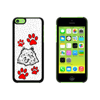 American Eskimo Dog of Distinction Case for Apple iPhone 5C