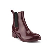 Women's Roman Jelly Ankle High Rain Boots