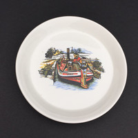 Trinket Dish Vintage Bargee Life in Britain RWL London