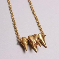 Molars Pendant By YourEyesLie - ACCESSORIES Youreyeslie Online store> Shop the collection