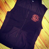 Monogrammed Light Weight Vest