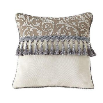 Estate By Croscill Alexandria 16'' X 16'' Fashion Throw Pillow