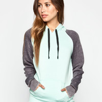 FULL TILT Essential Womens Color Block Hoodie 244648523 | Essentials