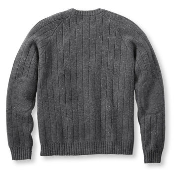 Shetland Donegal Sweater, Crew: Crewnecks | Free Shipping at L.L.Bean