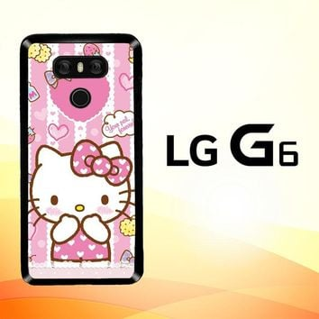 Hello Kitty Candy Pink L1944 LG G6 Case