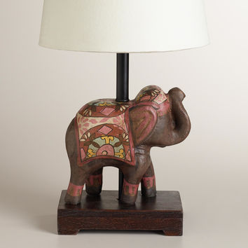 Indian Elephant Accent Lamp Base - World Market