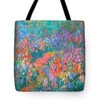Wildflower Mist Tote Bag