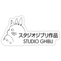 'Studio Ghibli' Sticker by xvalentinement