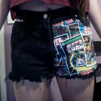 Vintage High Wasted Shorts by VintageLoveXoXox on Etsy