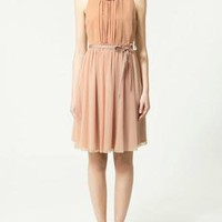 DRESS WITH DRAPED TOP - Dresses - Collection - Woman - ZARA United States
