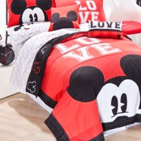 Disney Bedding, Mickey Mouse Quilt Sets - Bed in a Bag - Bed & Bath - Macy's