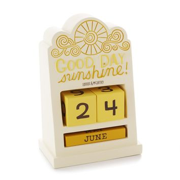 Good Day, Sunshine Perpetual Calendar