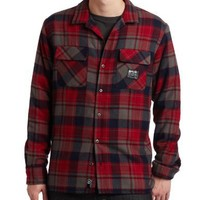 Rip Curl Wetsuits Men's Rebellion Flannel Shirt