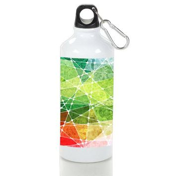 Gift Sport Bottles | Stained Glass Texture Art Aluminum Sport Bottles
