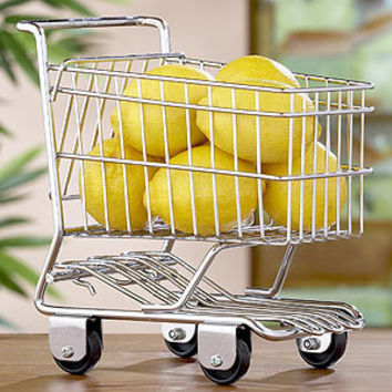 Chrome Shopping Cart | Cooking and Baking| Kitchen & Dining | World Market