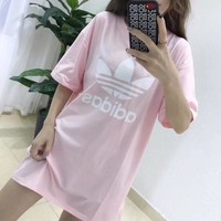 Adidas Clover Long T-Shirt Dress