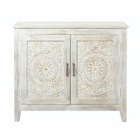 Home Decorators Collection Chennai Whitewash Nightstand 9467900410 at The Home Depot - Mobile