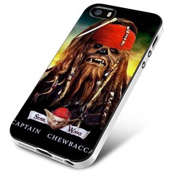 Captain Chewbacca Star Wars iPhone 5 | 5S | 5SE Case Planetscase.com