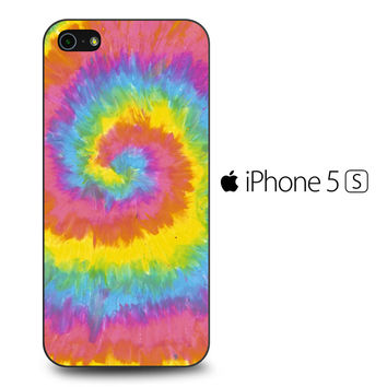 Pastel Rainbow Tye Die iPhone 5S Case