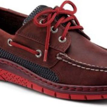 Sperry Top-Sider Billfish Ultralite 3-Eye Boat Shoe Oxblood, Size 9.5M  Men's